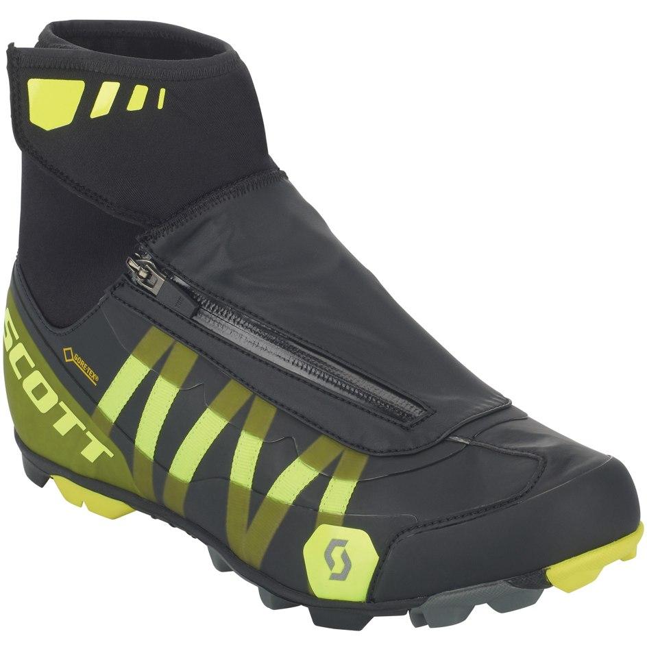 SCOTT MTB Heater GORE-TEX Schuh - black/sulphur yellow
