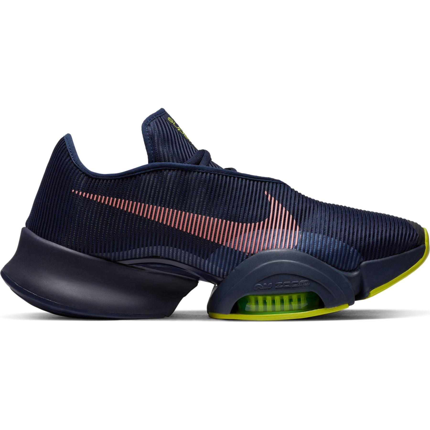 Produktbild von Nike Air Zoom Superrep 2 Herrenschuhe - blackened blue/bright mango-cyber CU6445-400