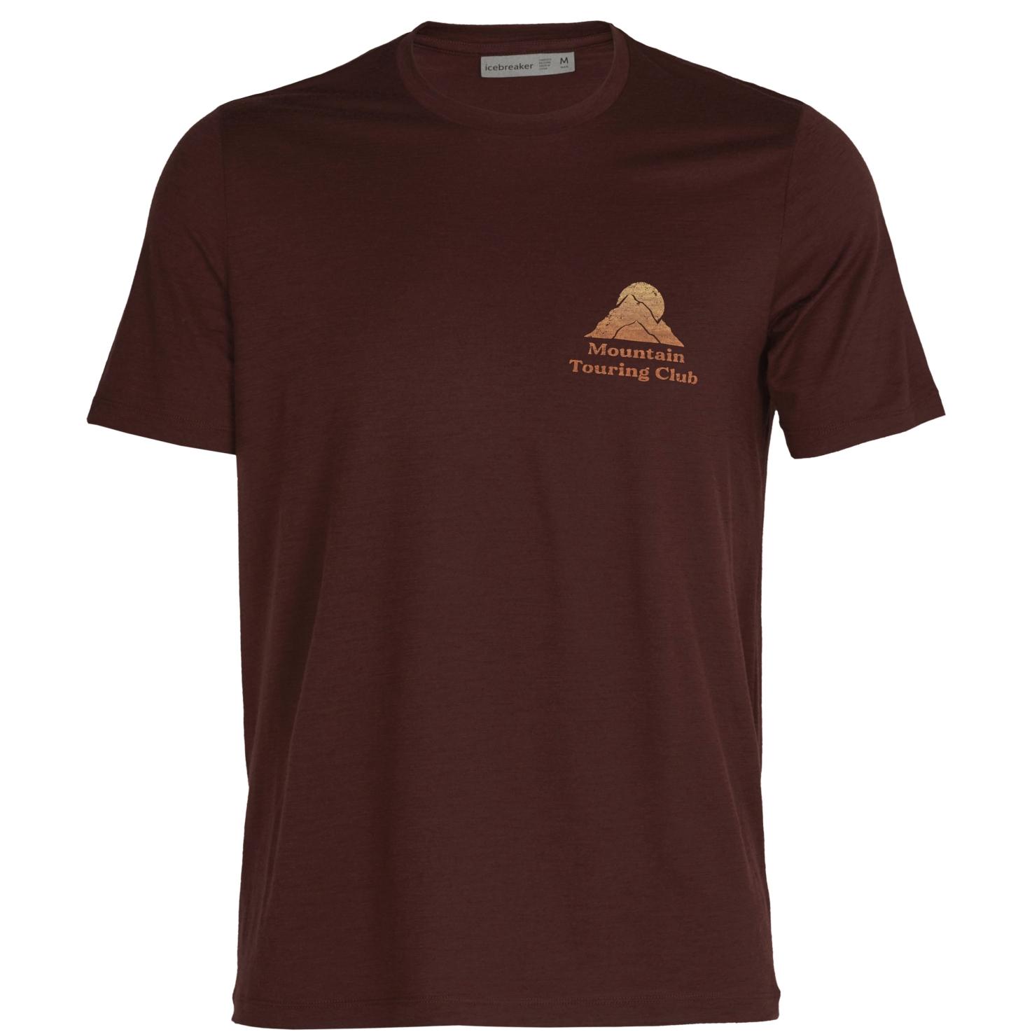 Produktbild von Icebreaker Tech Lite II Touring Club Herren T-Shirt - Espresso