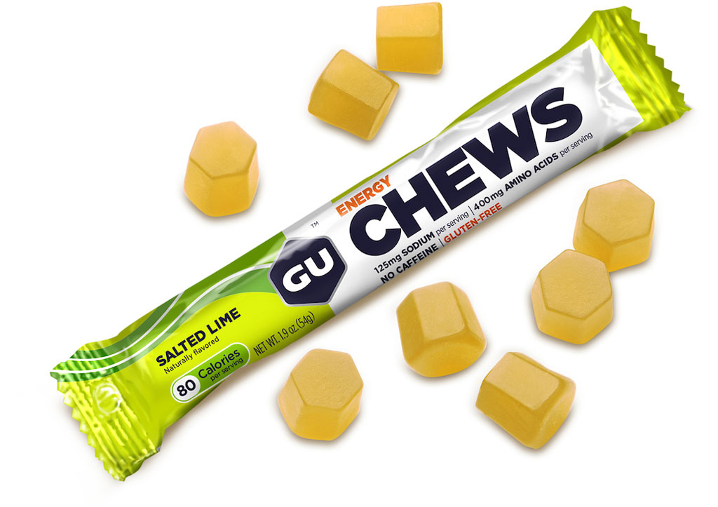 Image of GU Energy Chews Flavor-Mix Test Package - 5x54g