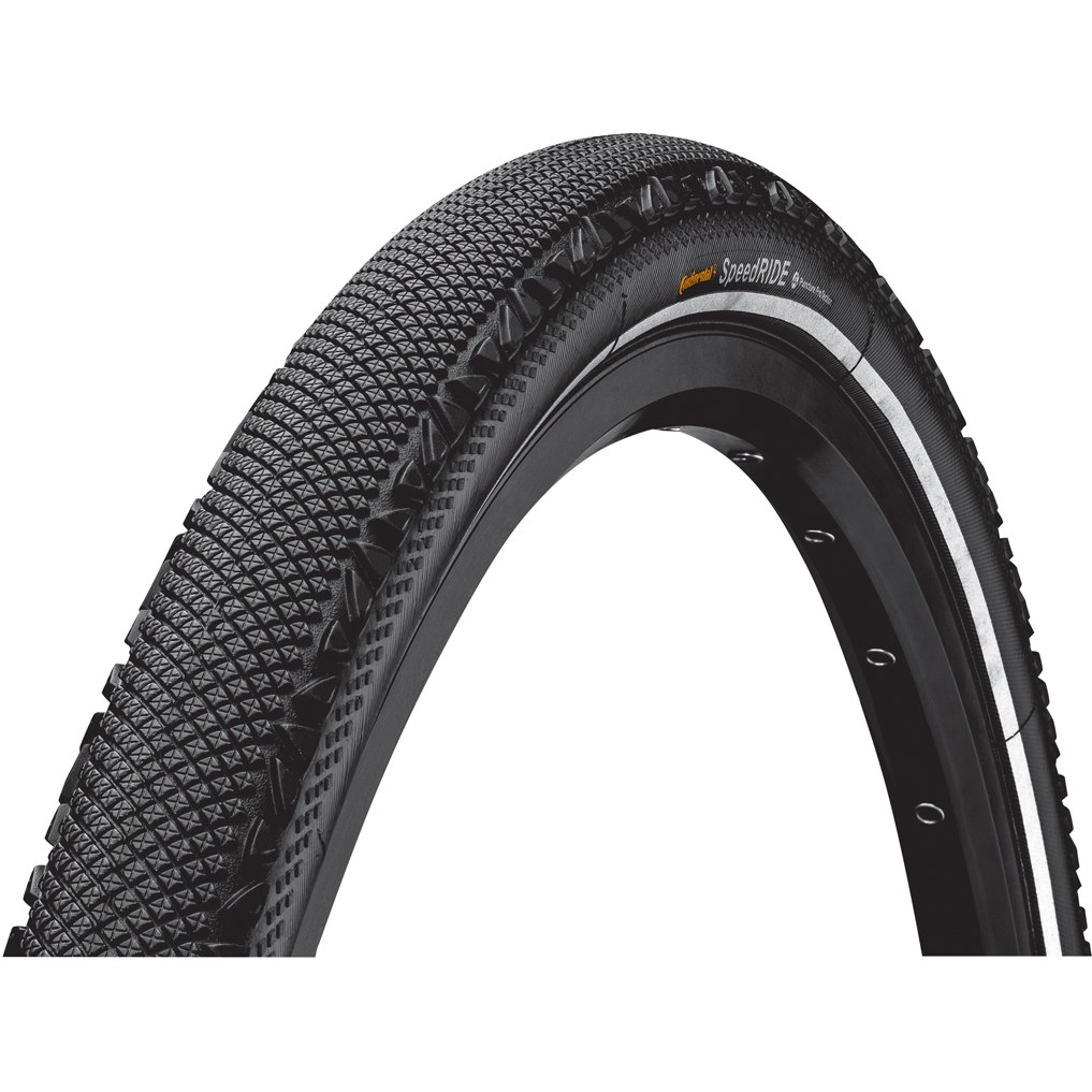 Continental Speed Ride Puncture ProTection Wire Bead Tire 28x1.6 Inches - black Reflex