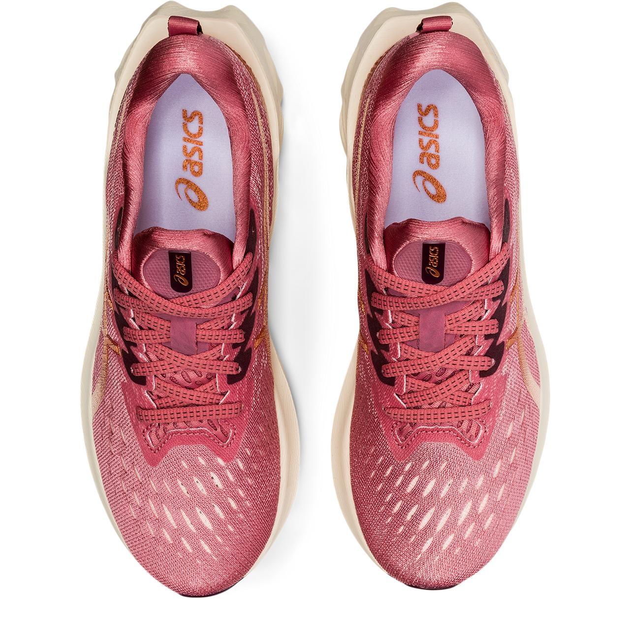 Bild von asics Novablast 2 Damen Laufschuh - smokey rose/pure bronze