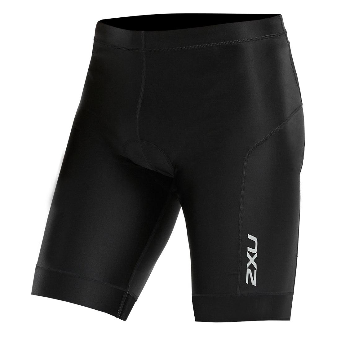 """Imagen de 2XU Perform 9"""" Tri Shorts - black/black"""