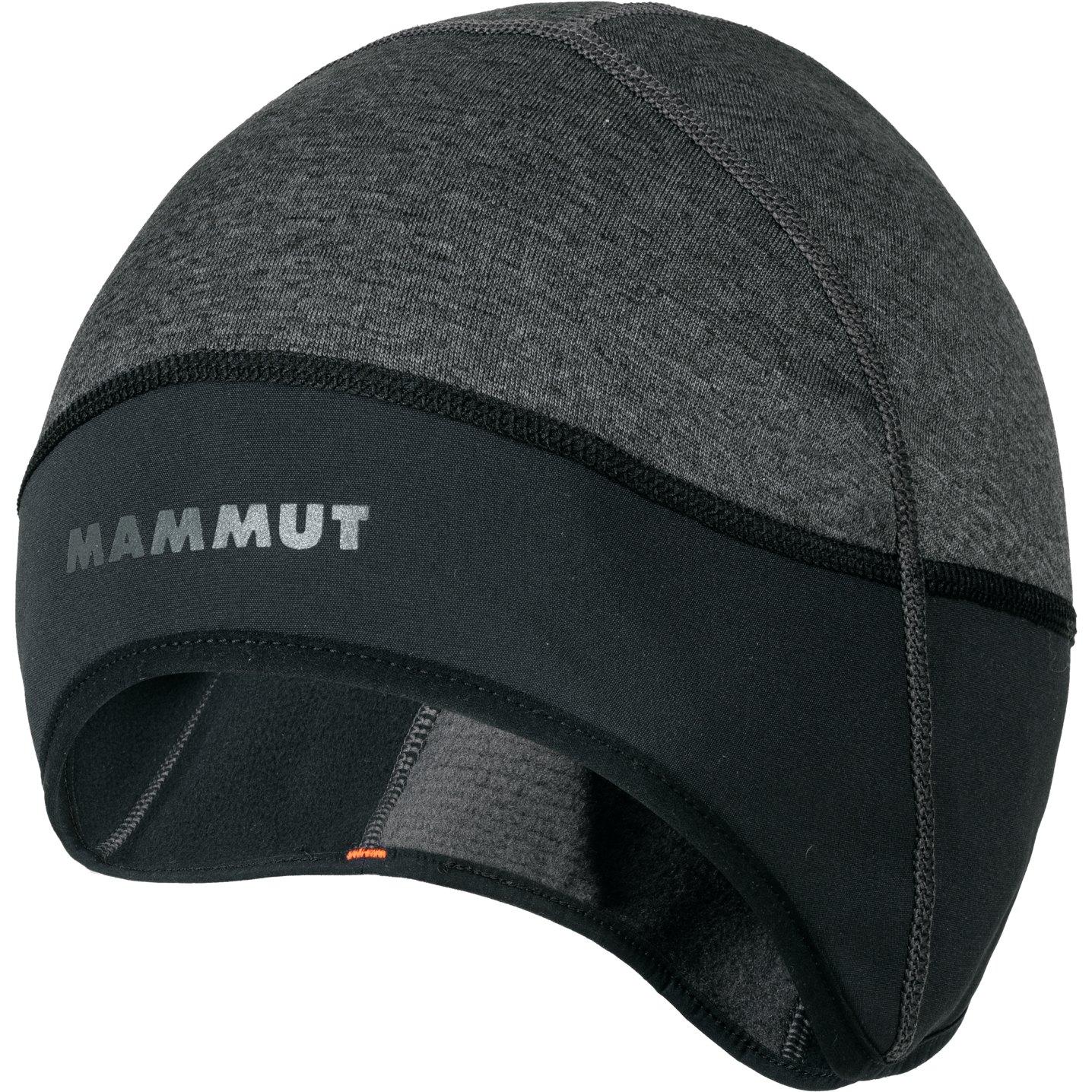 Mammut WS Helmmütze - black mélange-black