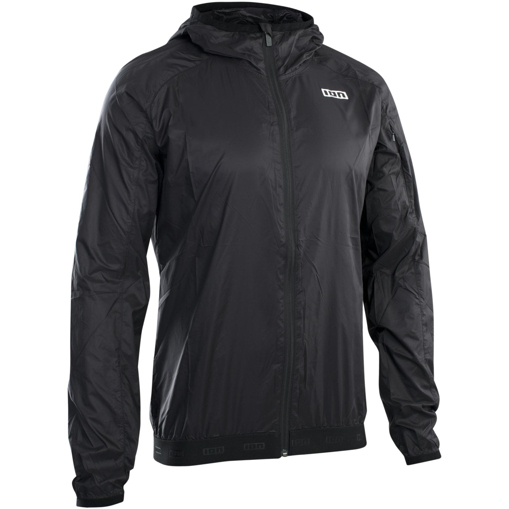 ION Bike Windbreaker Jacket Logo - Black