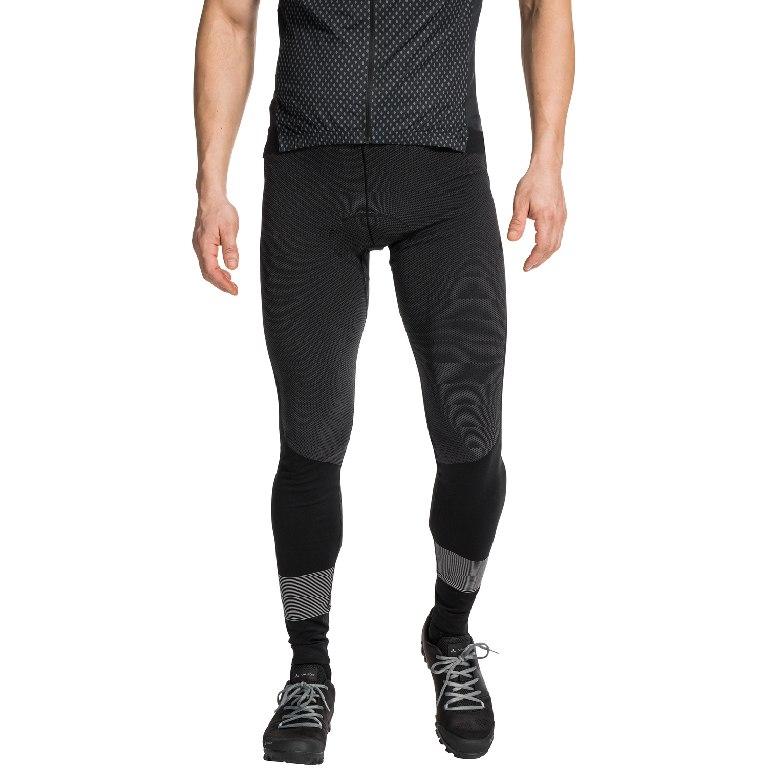 Image of Vaude Men's SQlab LesSeam Tights - black