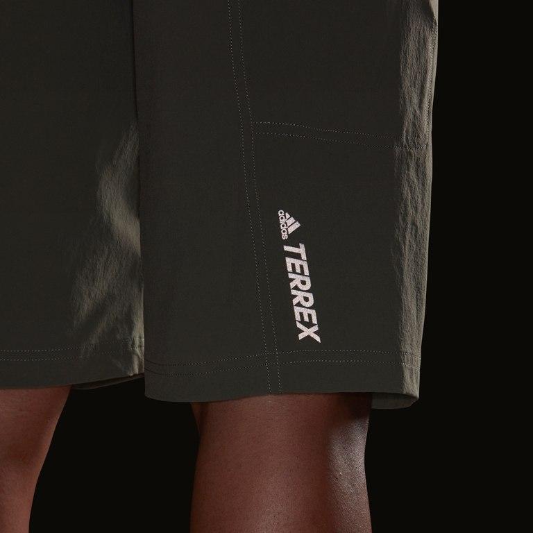 Image of adidas Men's Terrex Trailcross Shorts - legacy green FI2425