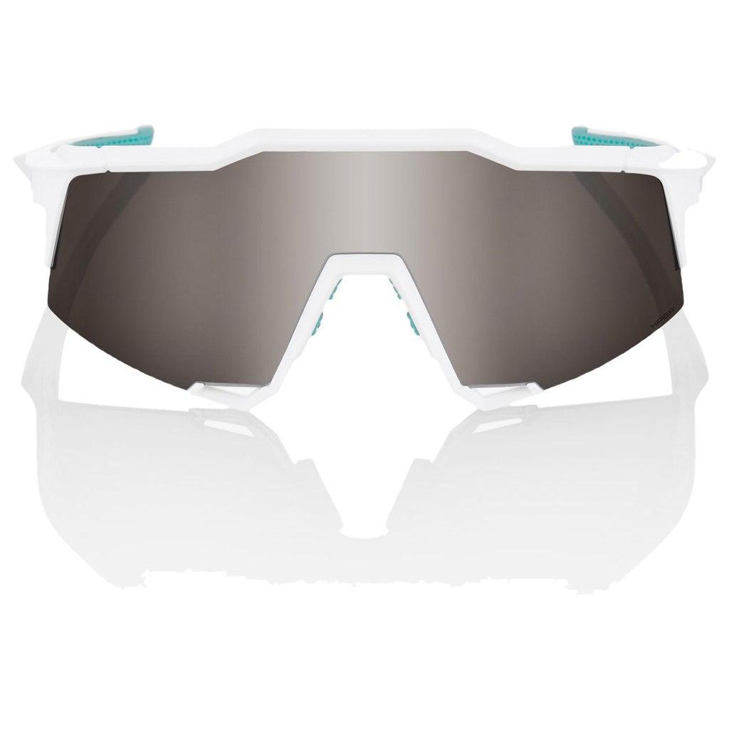 Imagen de 100% Speedcraft HiPER Silver Mirror Lens - BORA-hansgrohe Special Edition - Team White
