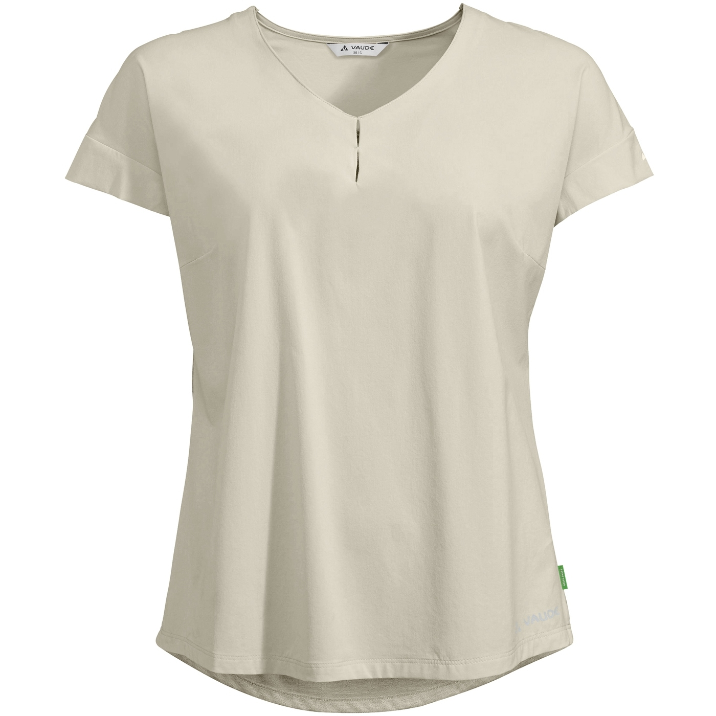 Vaude Skomer V-Neck Damen T-Shirt - ecru