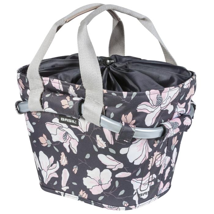 Basil Magnolia Carry All Front Basket - pastel powder
