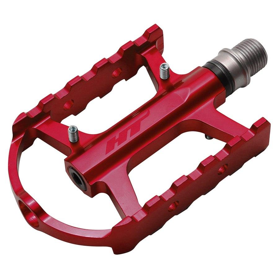 HT ARS02 Cheetah-S Pedal Aluminium - rot