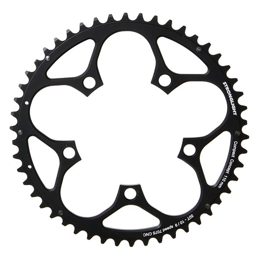 Stronglight Road Chainring - 5-Arm - 110mm - for Shimano 9/10-Speed