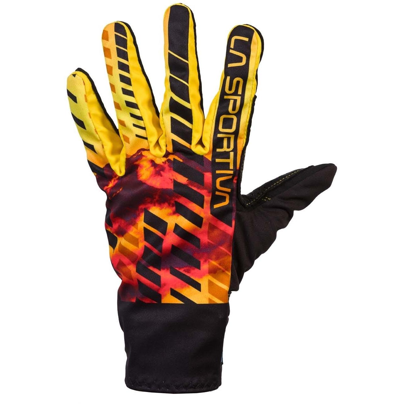 La Sportiva Skimo Race Gloves - Black/Yellow