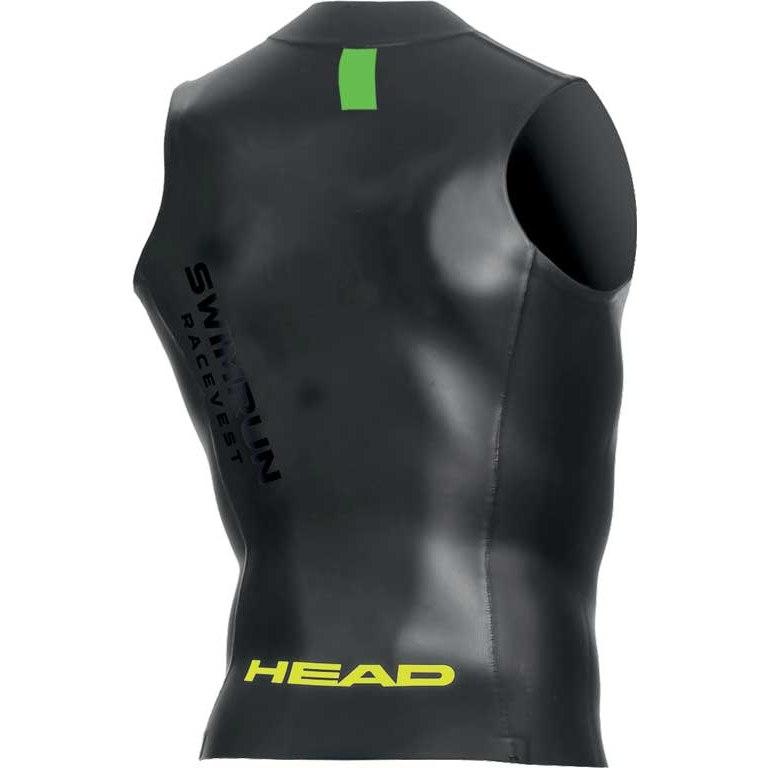 Image of HEAD SwimRun Race Zipper Top Unisex - black/brazil