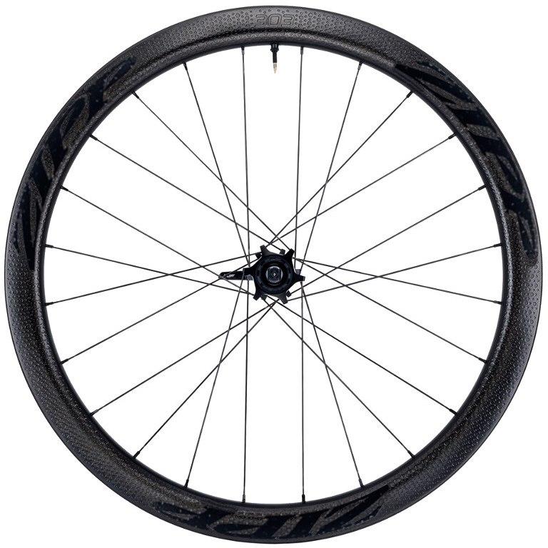 ZIPP 303 Firecrest Carbon 27,5 Zoll Hinterrad - Tubeless - Drahtreifen - 6-Loch - 12x142mm / QR - schwarz