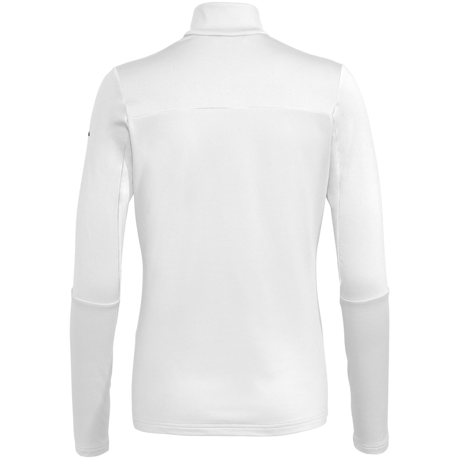 Bild von Vaude Livigno Halfzip II Damen Shirt - weiß