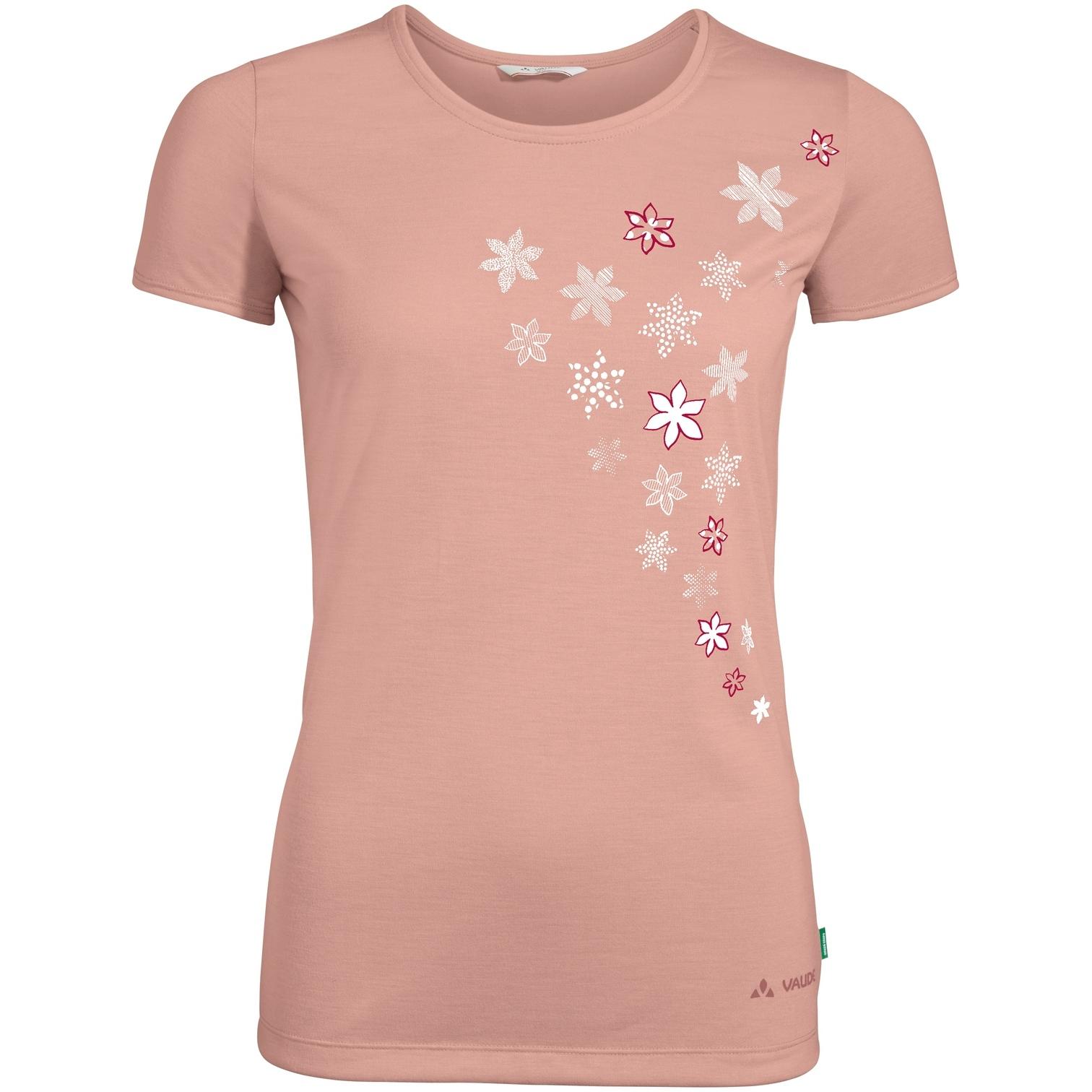 Vaude Skomer Print Damen T-Shirt - soft rose