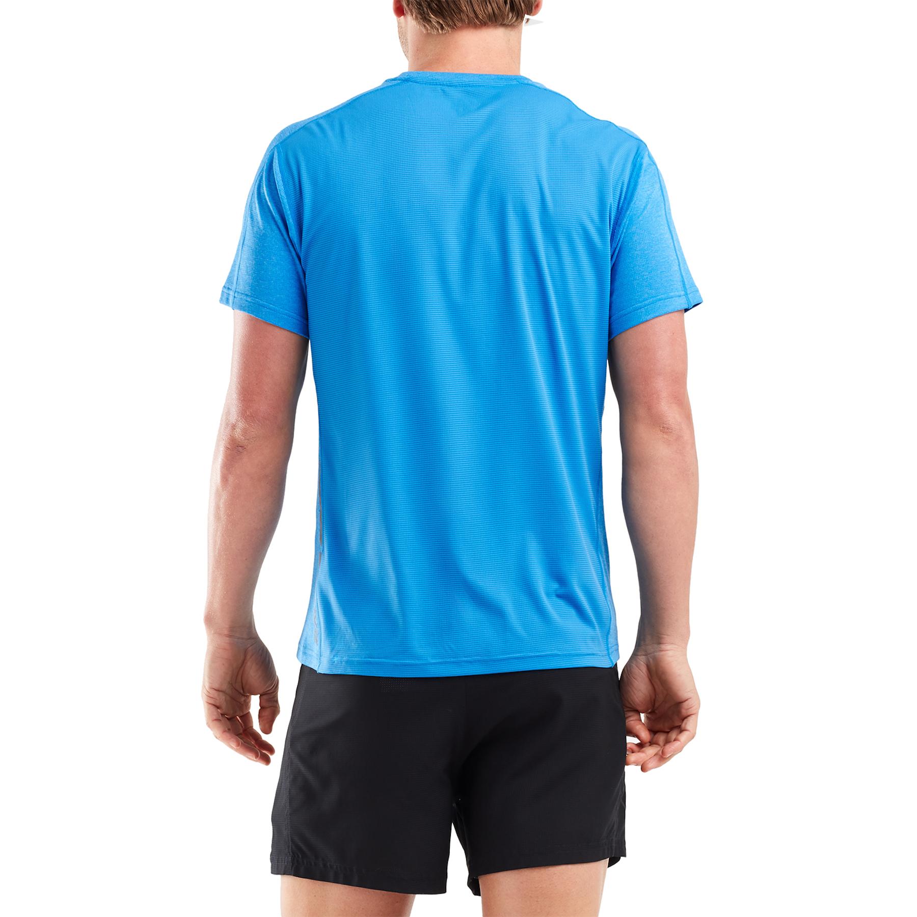 Imagen de 2XU XVENT G2 Short Sleeve Tee - true blue/silver reflective