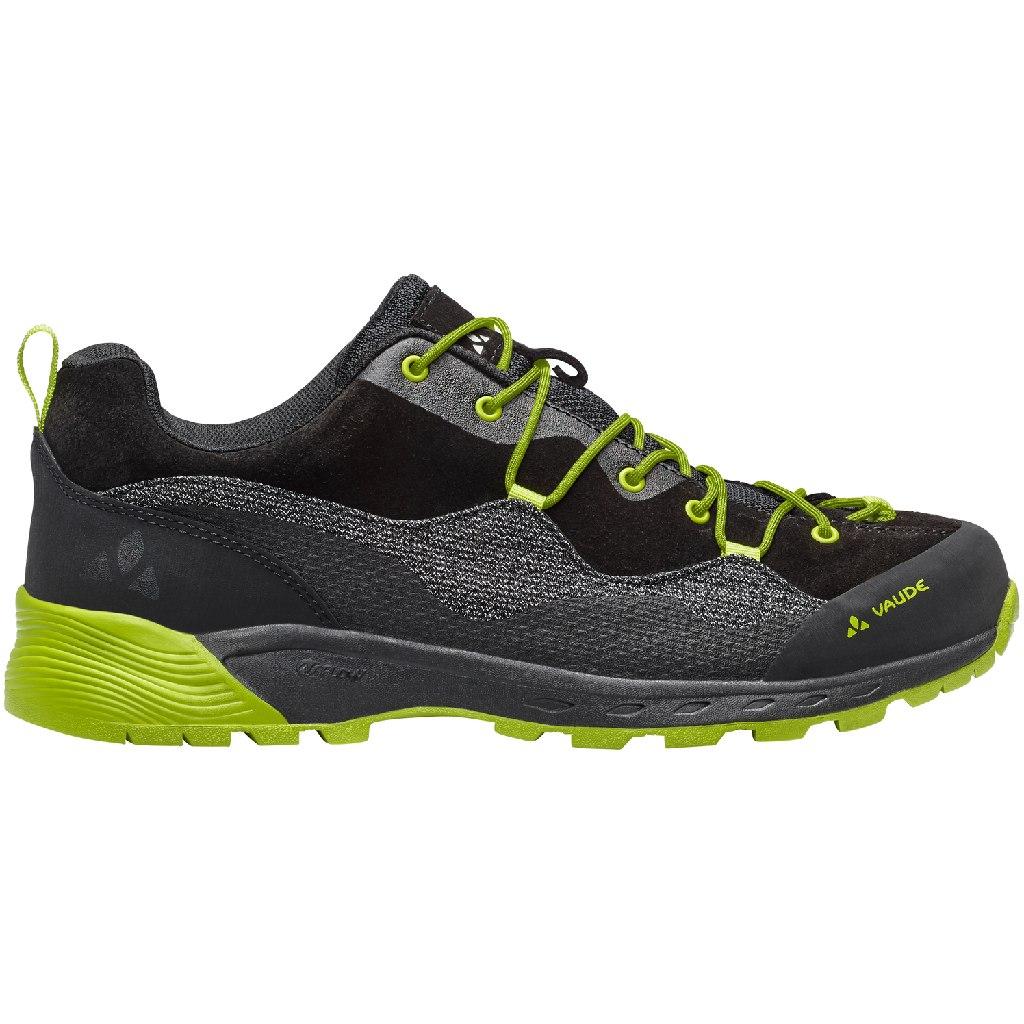 Image of Vaude Men's MTN Dibona Tech Approach Shoe - phantom black
