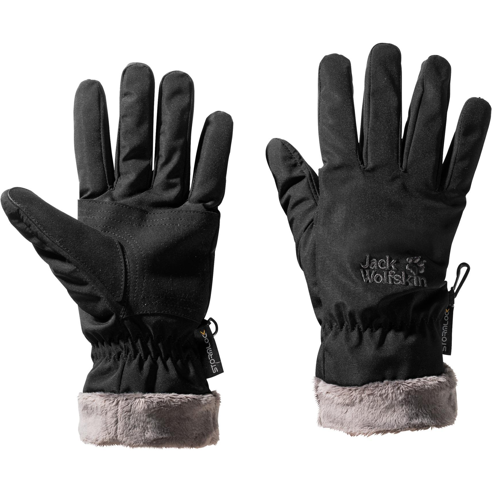 Picture of Jack Wolfskin Stormlock Highloft Glove Women - black