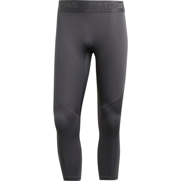 adidas Men's Alphaskin Sport 3/4 Tight - grey six DU6550