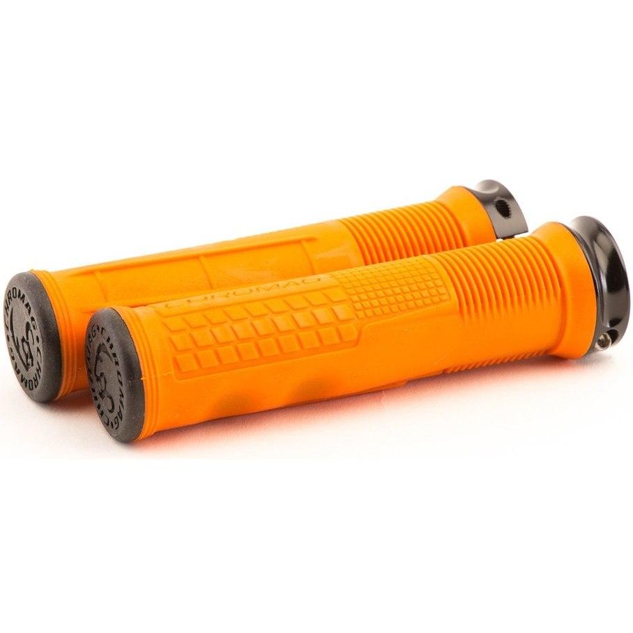 CHROMAG Format Grip Handlebar Grips - orange