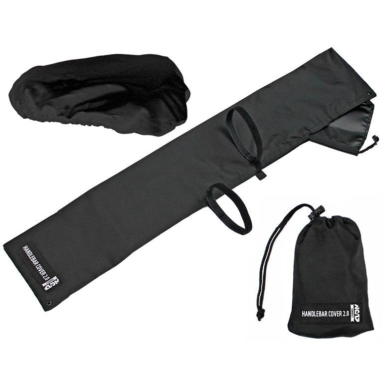NC-17 Connect Handlebar and Saddle Cover 2.0 - black