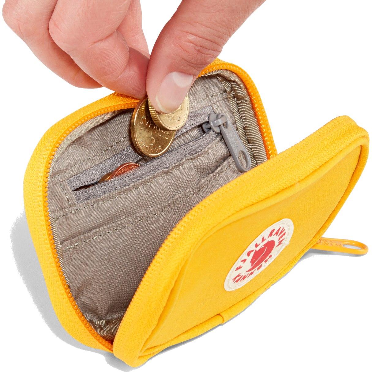 Image of Fjällräven Kanken Card Wallet - warm yellow