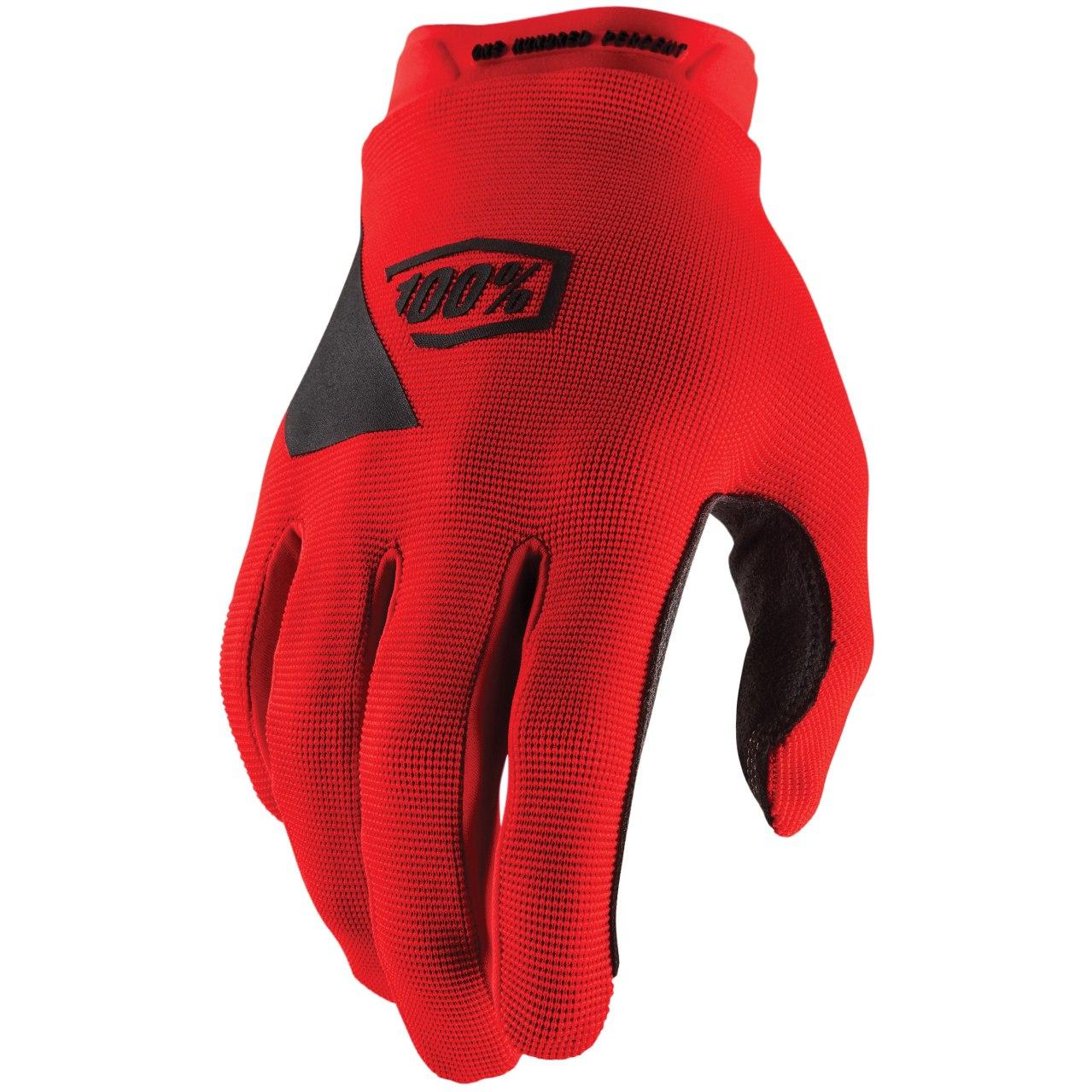 100% Ridecamp Glove - Red