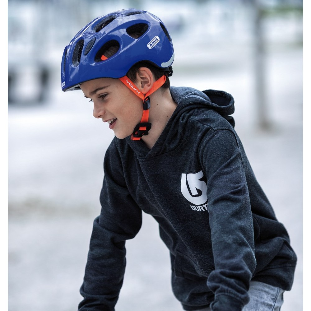 Imagen de ABUS Youn-I Kids Helmet - grey lightning