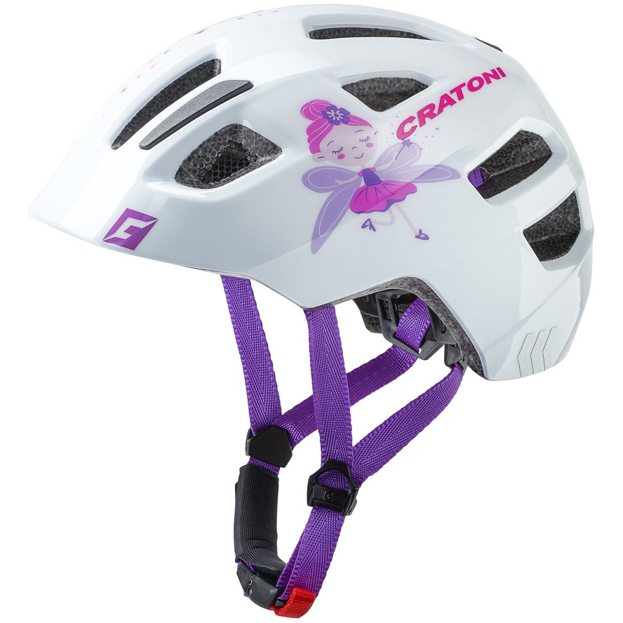Image of CRATONI Maxster Helmet - fay white glossy