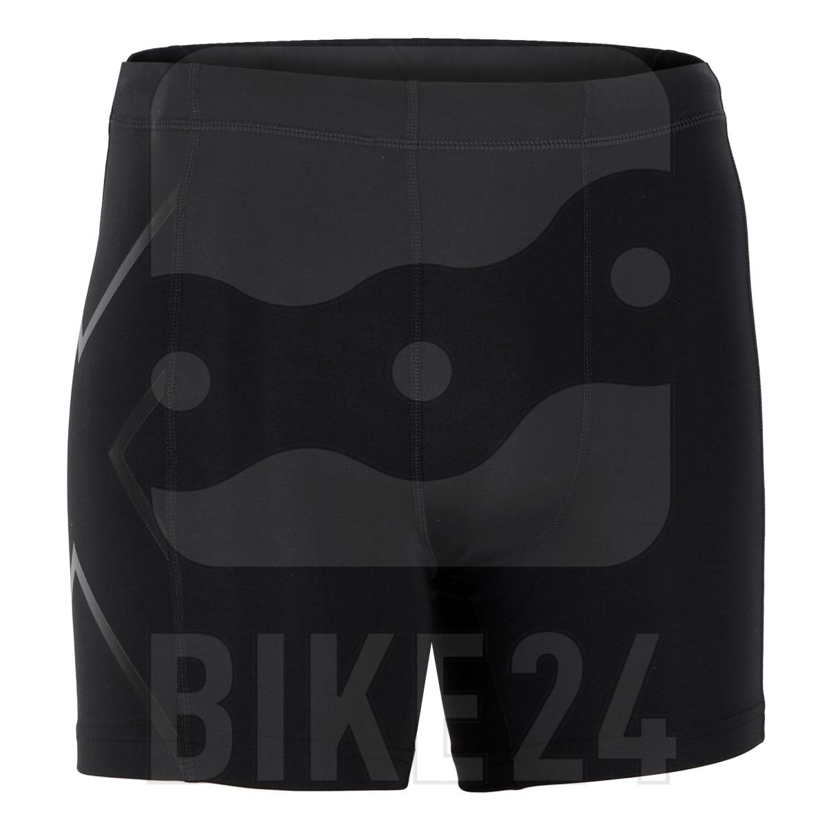 Image of 2XU Core Compression 1/2 Shorts - black/nero