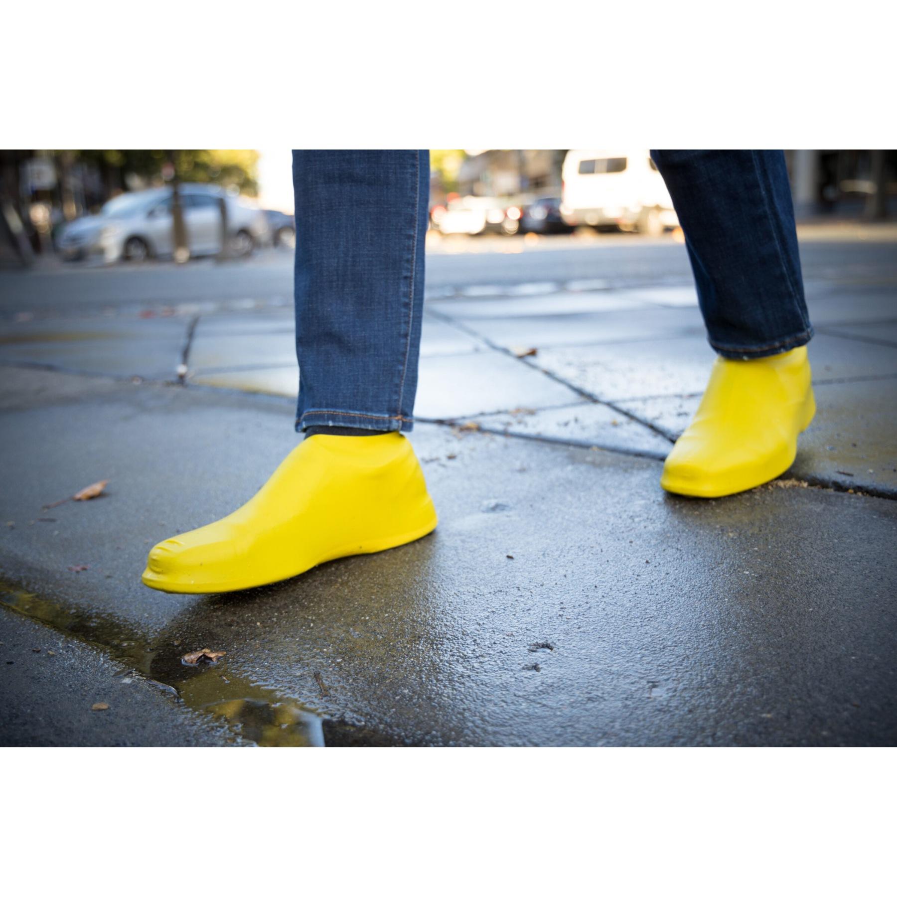 Bild von veloToze Roam Short Shoe Cover - Überschuh - gelb