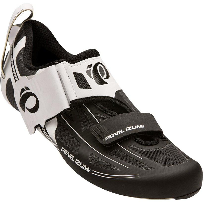 Produktbild von PEARL iZUMi Men's Tri Fly ELITE v6 Carbon Triathlonschuh 15117002 - white / black - 509