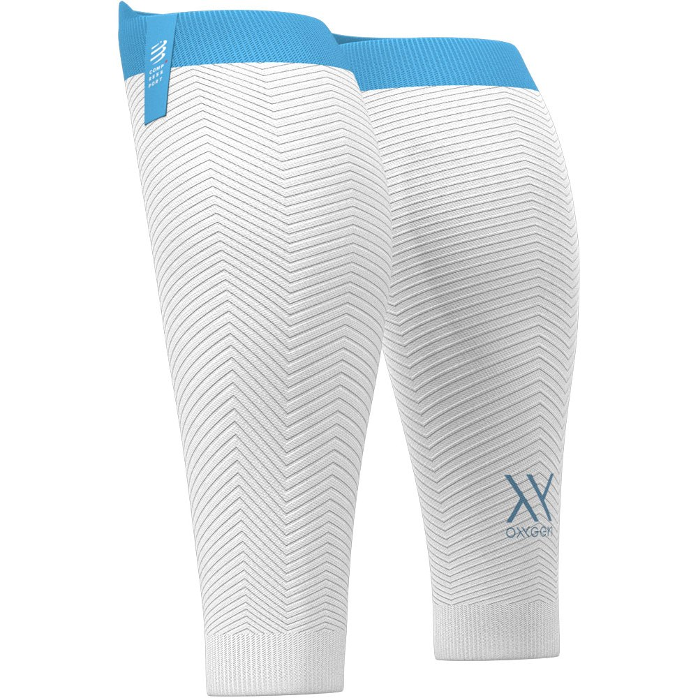 Picture of Compressport R2 Oxygen Calf Sleeves - white