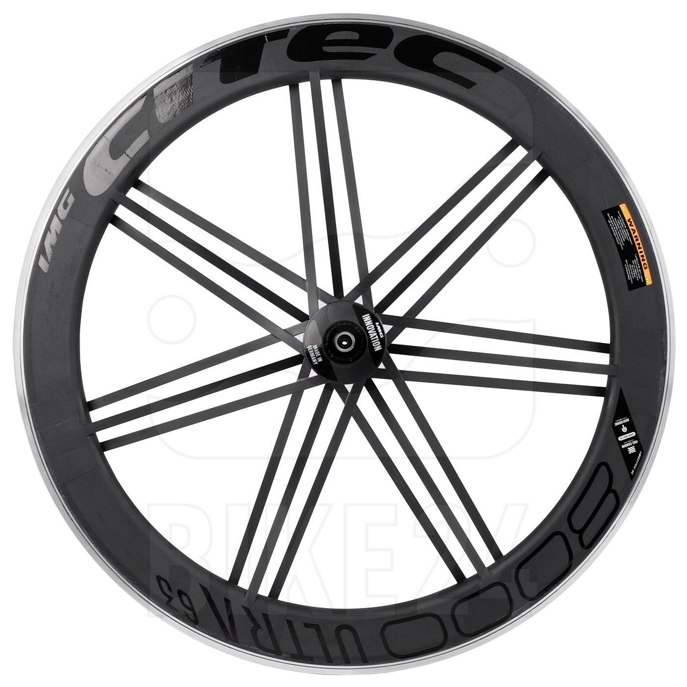 CITEC 8000 SL / 63 Ultra 28 Inch Rear Wheel - Clincher - 10x130mm QR - black