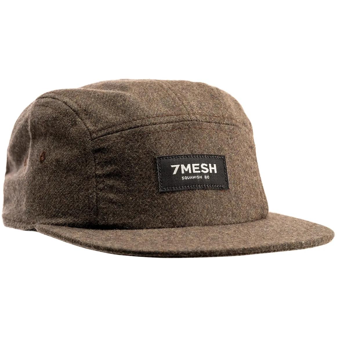 7mesh Trailside Flannel Gorra - Dark Moss
