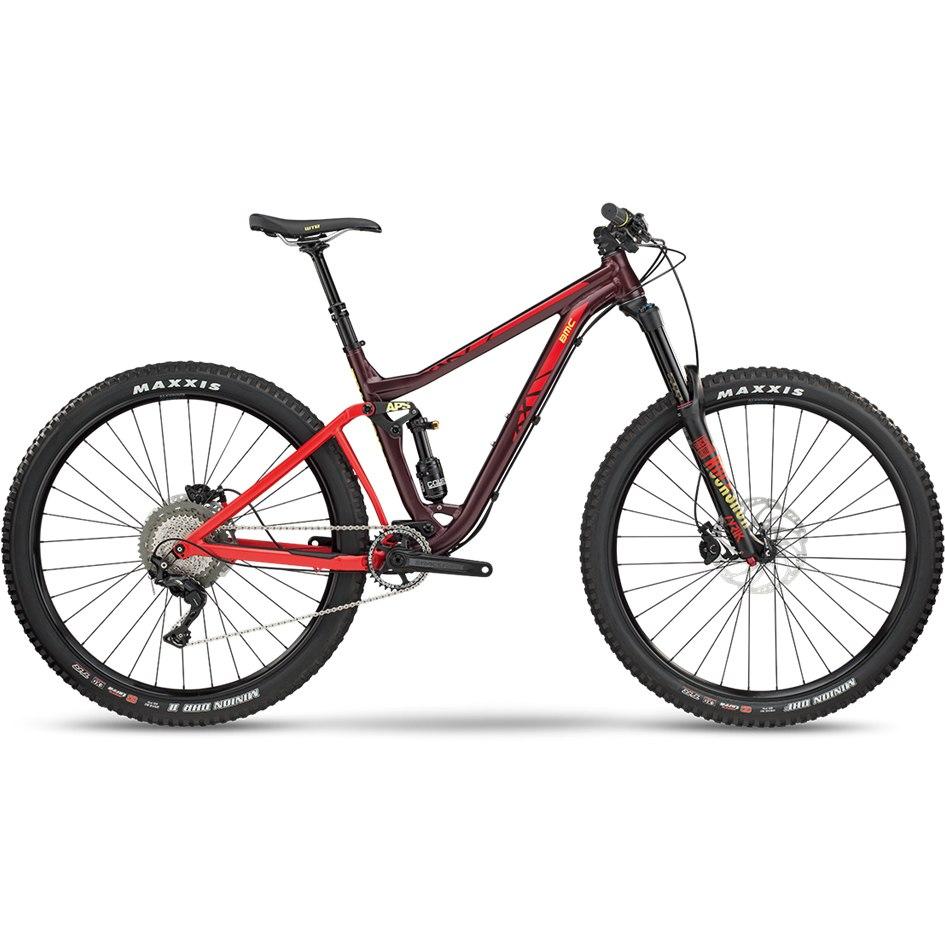 BMC TRAILFOX 03 TWO Mountainbike - 2018 - bordeaux/yellow/red