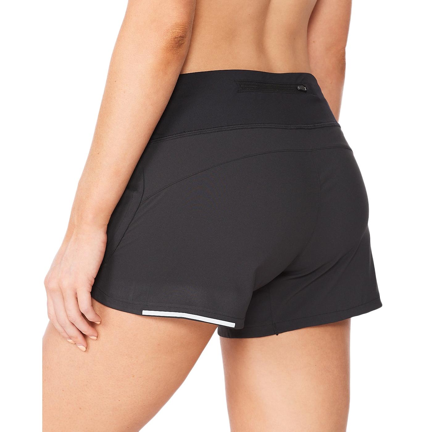 "Imagen de 2XU Aero 4"" Pantalon corto para mujer - black/silver reflective"