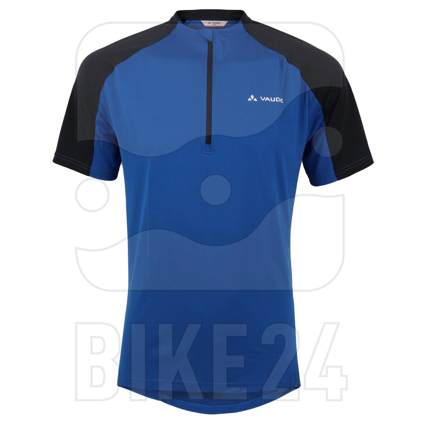 Vaude SE Maro Hzip Shirt - signal blue