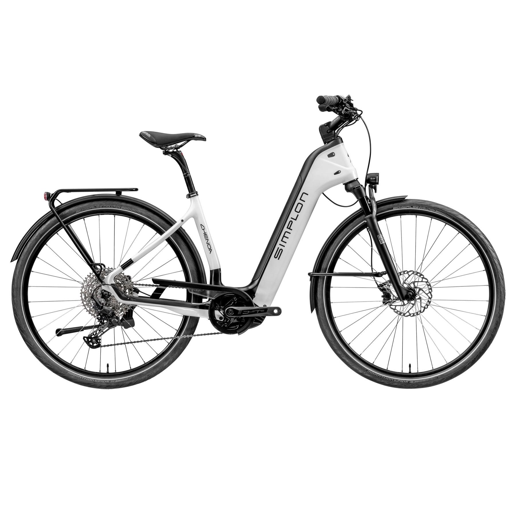 Simplon CHENOA CX UNI TR - Tiefeinstieg E-Bike - 2021 - pearlwhite
