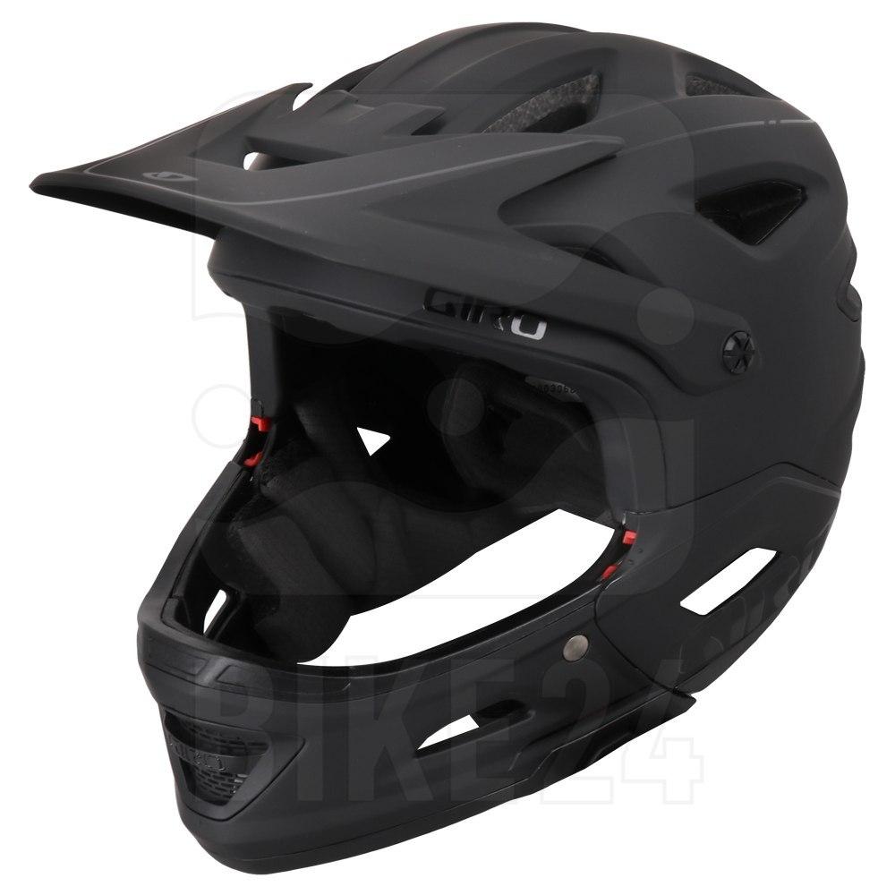 Produktbild von Giro Switchblade MIPS Helm - matte black / gloss black