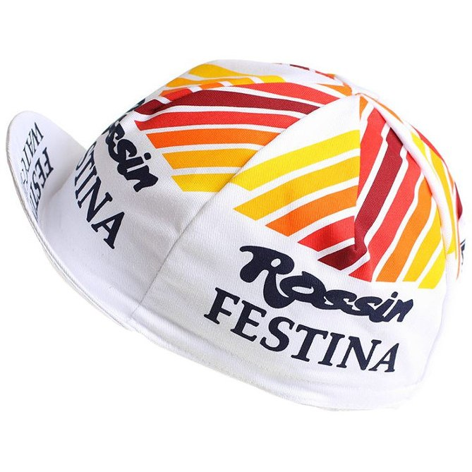 Image of Apis Retro Style Team Cycling Cap - FESTINA ROSSIN