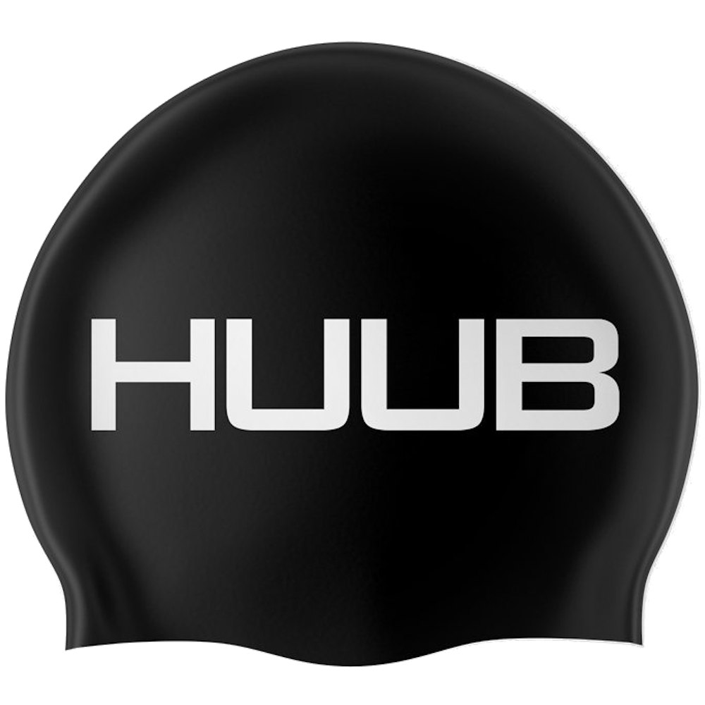 Produktbild von HUUB Design Silicone Schwimmkappe - schwarz