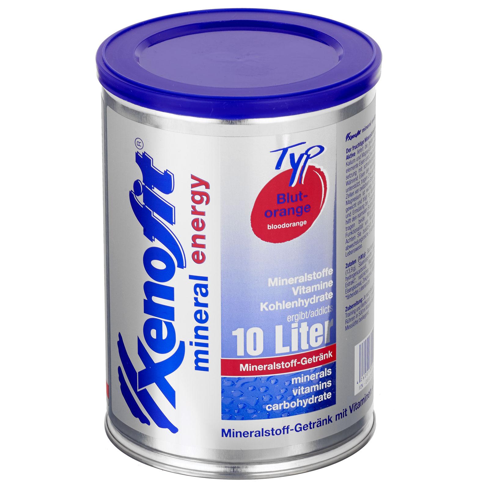 Xenofit Mineral Energy Drink mit Kohlenhydraten - 720g