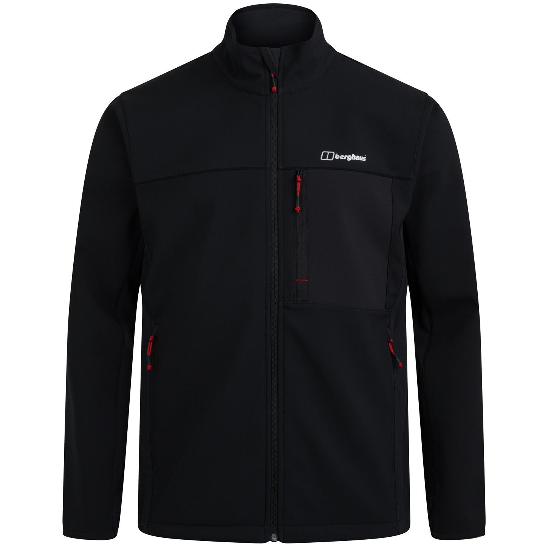 Berghaus Men's Ghlas 2.0 Softshell Jacket - Jet Black BP6