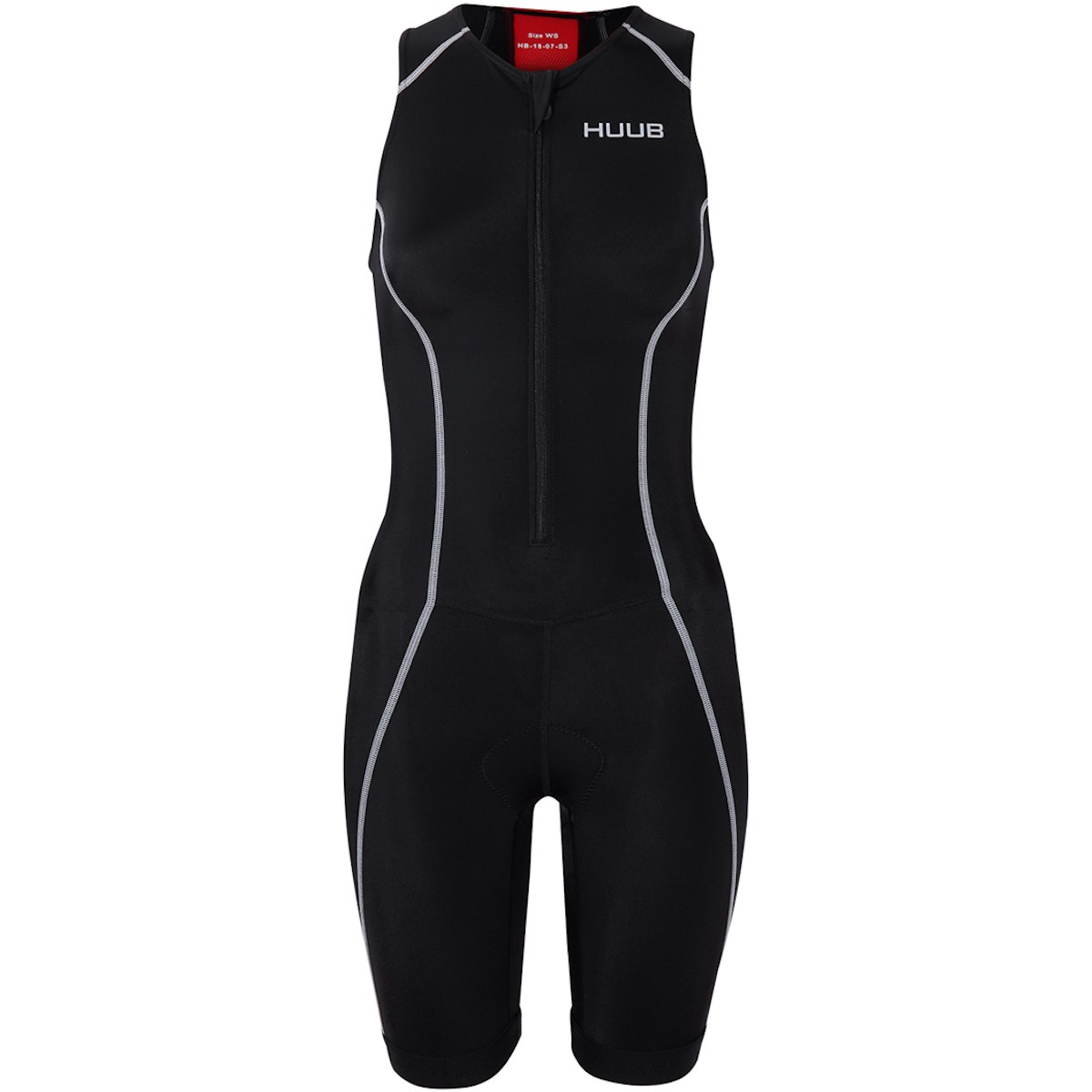 Produktbild von HUUB Design Essential Damen Trisuit - schwarz/rot