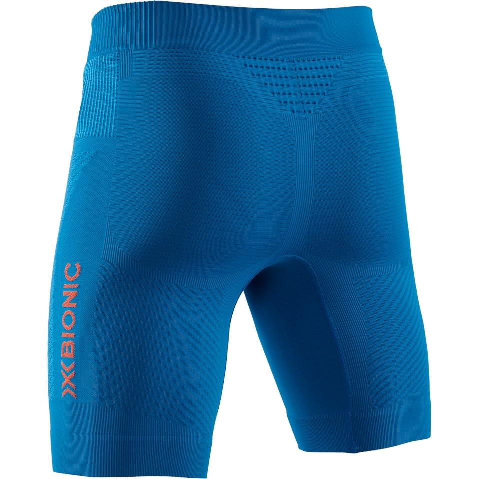 Bild von X-Bionic Invent 4.0 Run Speed Laufshorts für Herren - teal blue/kurkuma orange