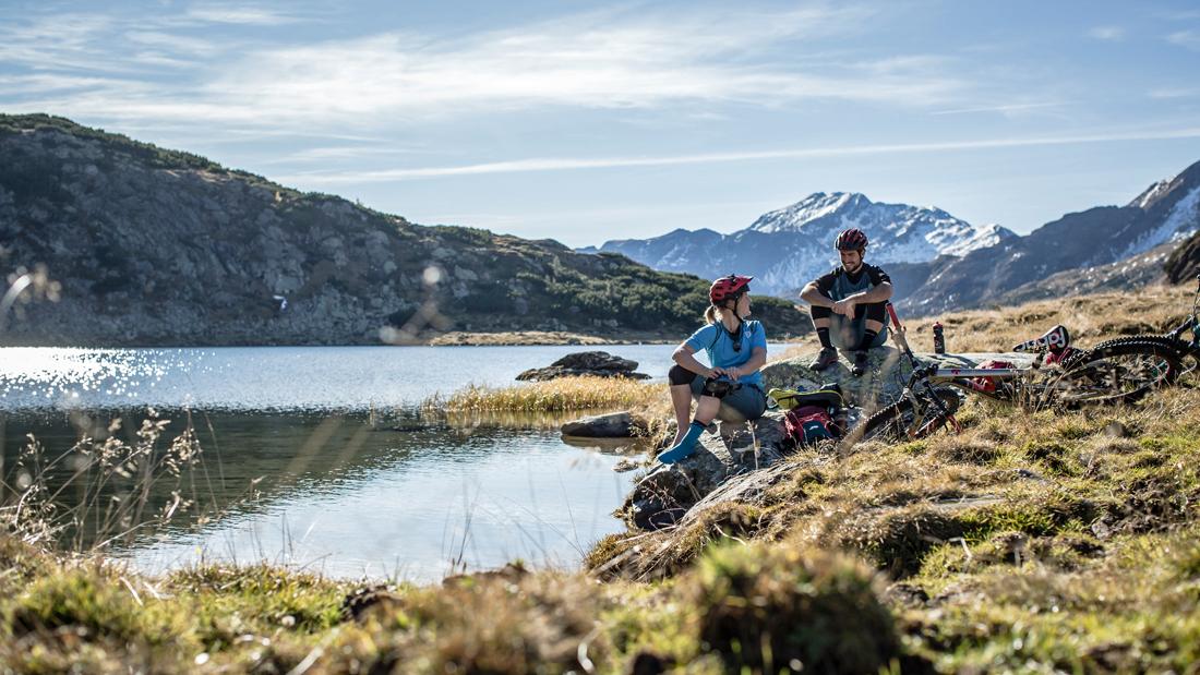 Mountainbike Touren in Österreich – Bergseen und Alpen-Panoramen
