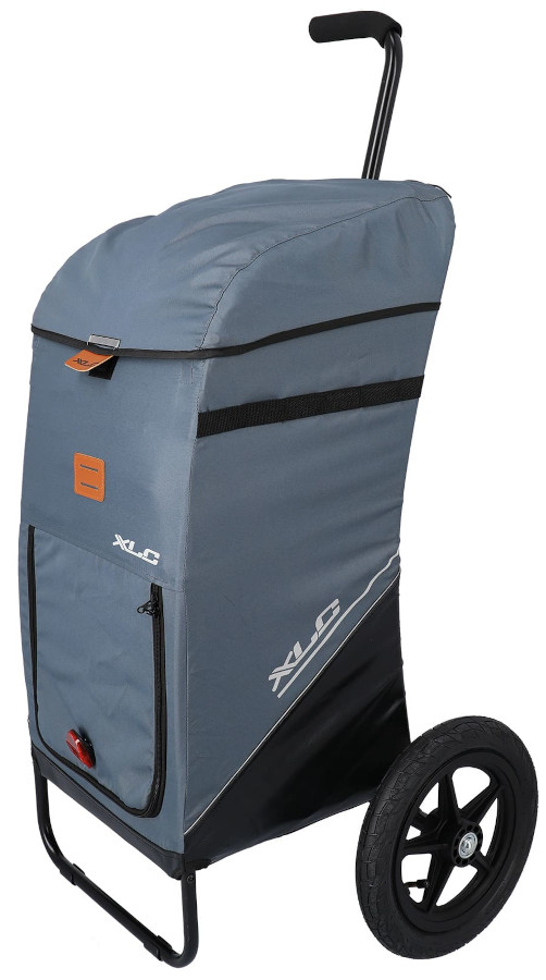 Bild von XLC Fahrrad Shopping Trolley - BS-L05 - grau/blau
